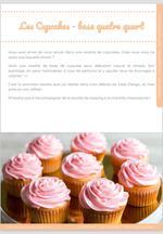 Cupcake pour débutant, nature et simple, mais bon ! 8