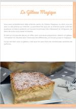 Le Gâteau Magique, une seule préparation pour 3 textures folles ! 2