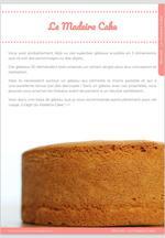 Le Madeira Cake pour vos Gâteaux en 3D ! 10