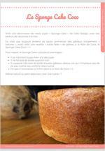 Le Sponge Cake Coco, un gâteau moelleux pour partir sur les Îles ! 9