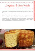 Gâteau à la crème fraiche 9