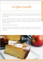 Le Gâteau Invisible, un gâteau aux pommes fondant à souhait ! 4