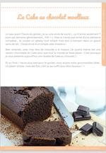 Le Cake au chocolat moelleux 3