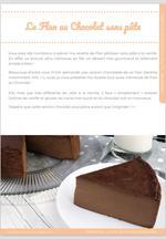 Le Flan au chocolat sans pâte, crémeux et gourmand ! 4