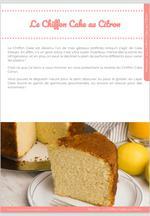 Le Chiffon Cake Citron, un nuage au doux parfum d'agrume ! 8
