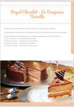 Le Royal chocolat ou Trianon, recette du CAP Pâtissier 8