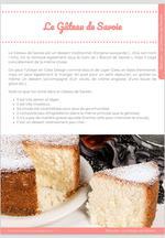 Le Gâteau de Savoie (ou Biscuit de Savoie) 6