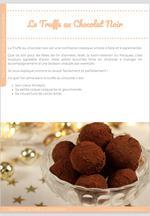 La Truffe au chocolat noir, classique mais indémodable ! 5
