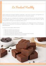 Fondant Healthy, sans beurre, sans gluten et sans sucre ajouté ! 4