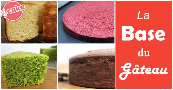 Base des gâteaux