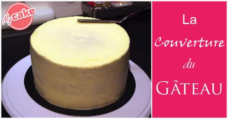 La couverture du gâteau de Cake Design
