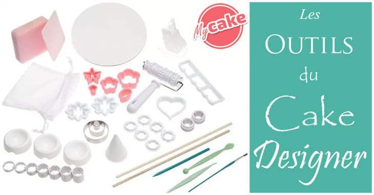 Les outils du cake designer