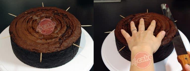 Le Shadow Cake au chocolat, le gâteau le plus «Dark» et noir 34