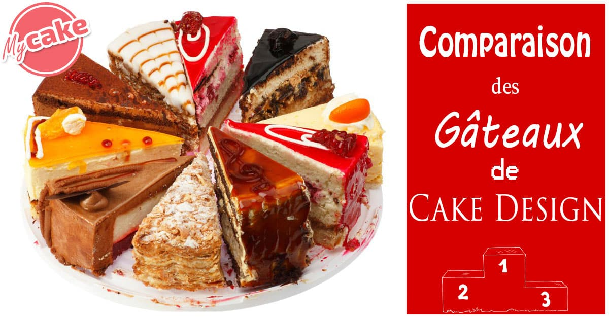 Comparaison des gâteaux de Cake Design