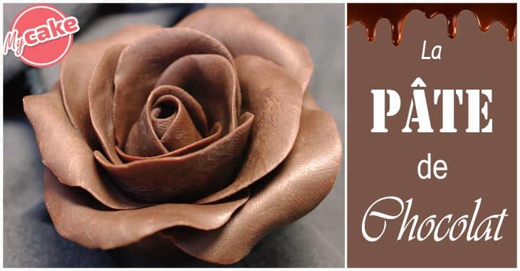 Pâte de chocolat ou Chocolat Plastique