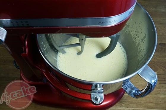 Chiffon Cake - Remplacer le fouet par la feuille