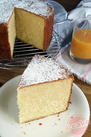 Le Chiffon Cake, un vrai nuage, Miam !