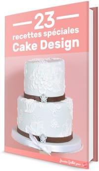 23 recettes spéciales cake design