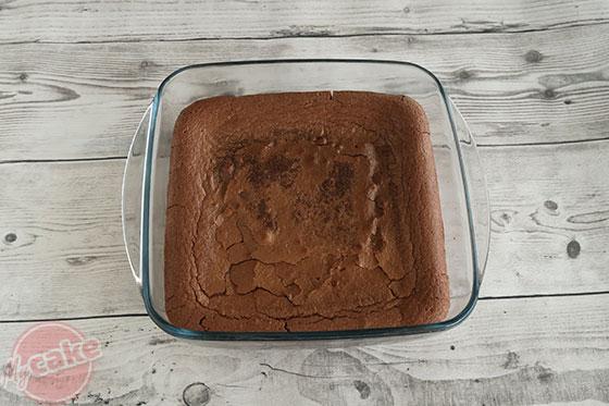 Fondant au Chocolat - Une fois cuit