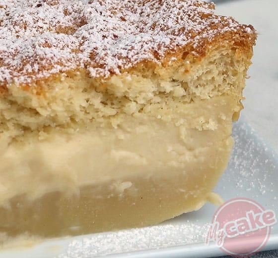 Gâteau Magique - 3 couches distinctes