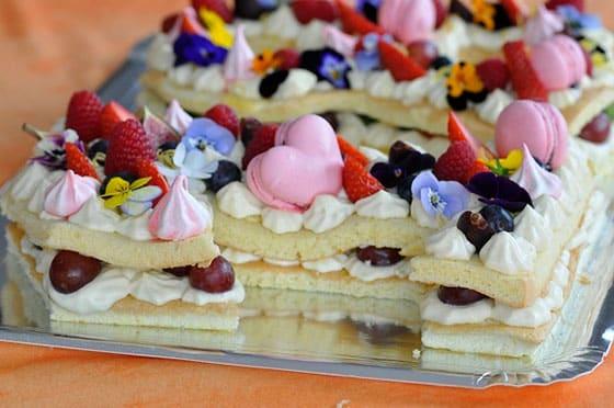 Number Cake moelleux