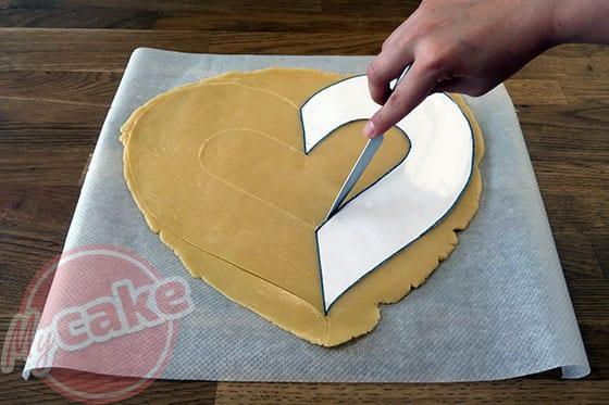 Number Cake - Détaillez votre pâte