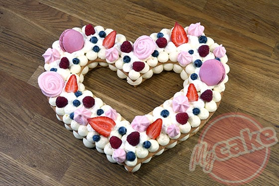 Number Cake - Faites vous plaisir au niveau de la décoration