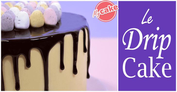 Le Drip Cake, le gâteau coulant ! 1