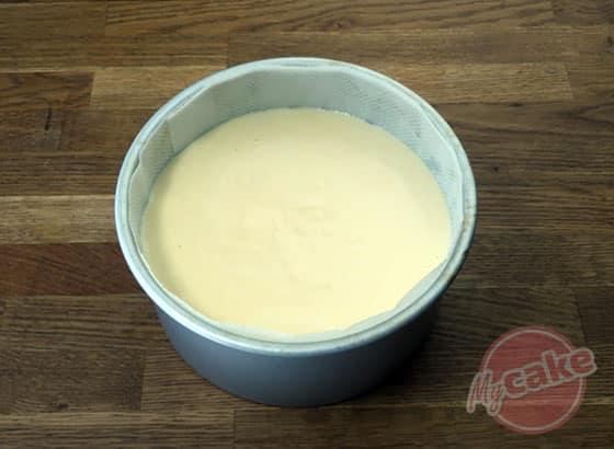 Fluffy Cake - Verser dans le moule