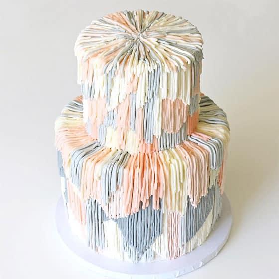 Exemple de Shag Cake