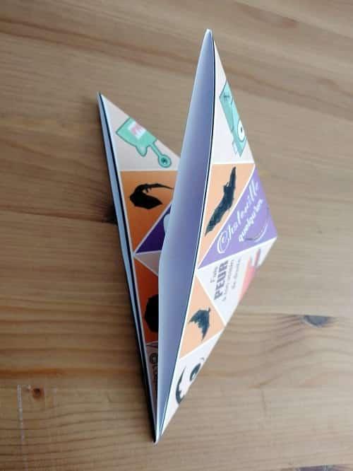 cocotte papier halloween lodysséa