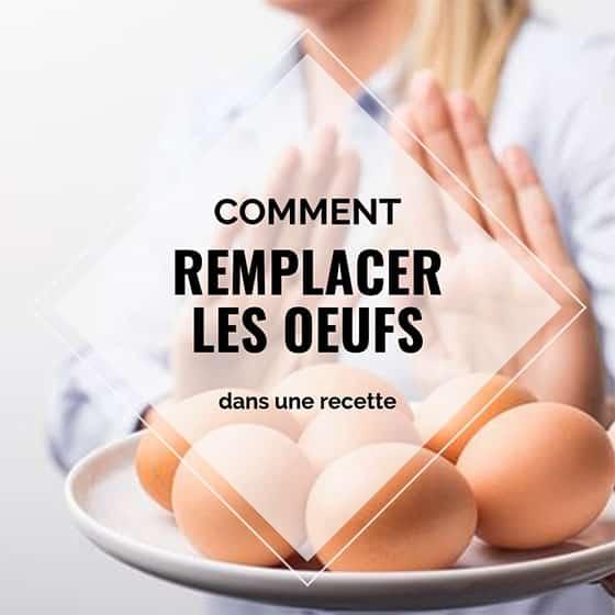 Comment remplacer les oeufs dans une recette ? 1
