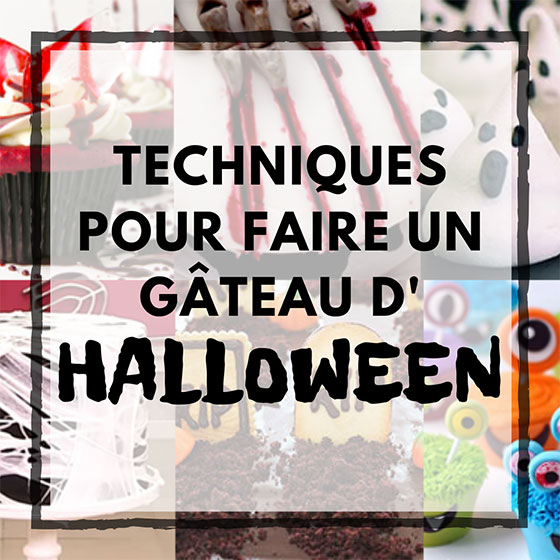 Instagram comment faire un gâteau d'halloween