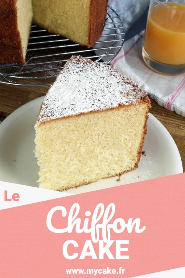 Le Chiffon Cake, un nuage de gâteau au moelleux incomparable ! 10