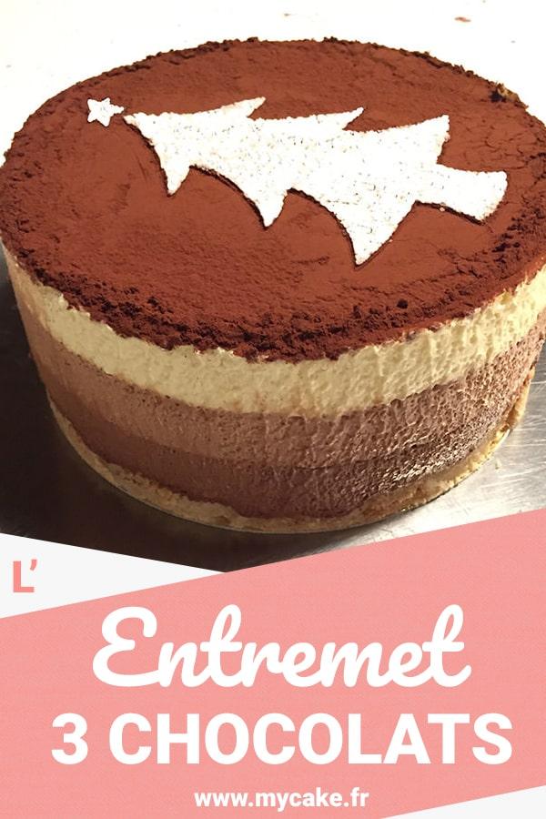 Entremet 3 chocolats, un dessert léger mais gourmand ! 34