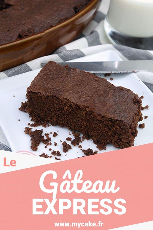 Gâteau express au chocolat, en 6 minutes Top chrono ! 6
