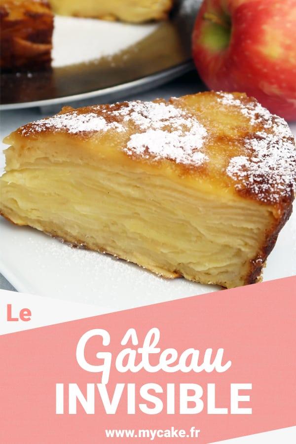 Le Gâteau Invisible, un gâteau aux pommes fondant à souhait ! 6