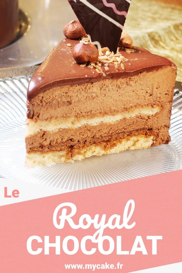 Le Royal chocolat ou Trianon, recette du CAP Pâtissier 13