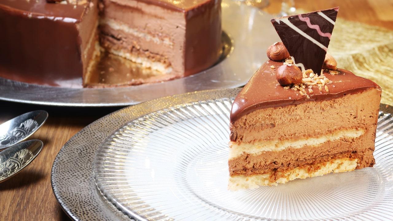 Le Royal chocolat ou Trianon, recette du CAP Pâtissier 22