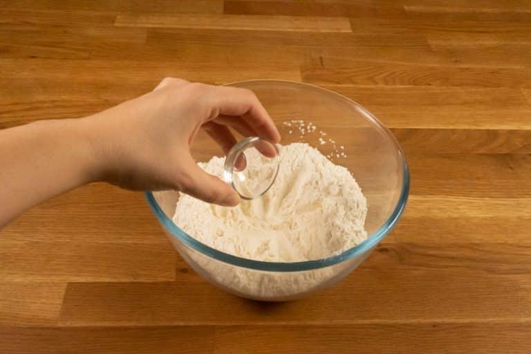 Pâte à crêpes - Ajouter le sel