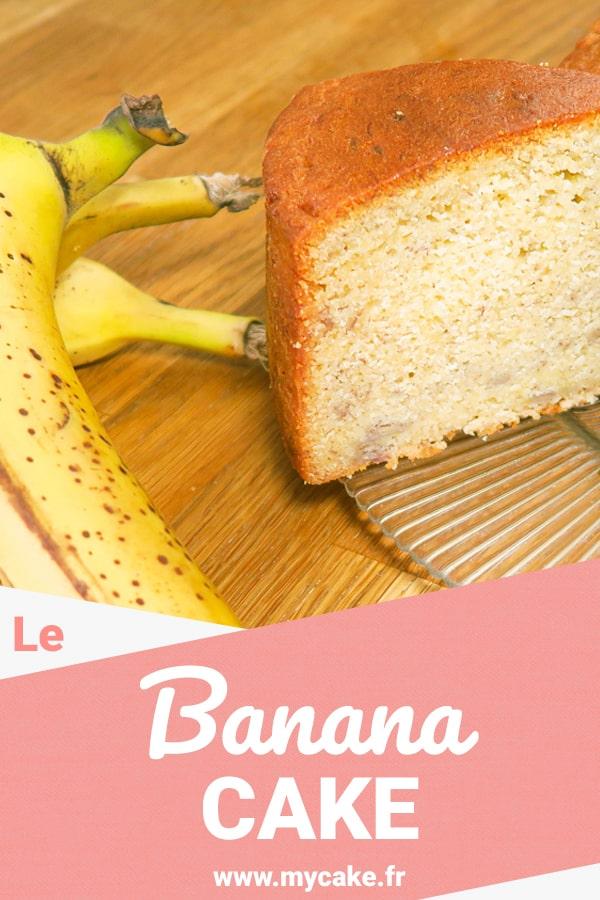 Banana Cake, le gâteau à la banane moelleux mais avec un bon maintien ! 20