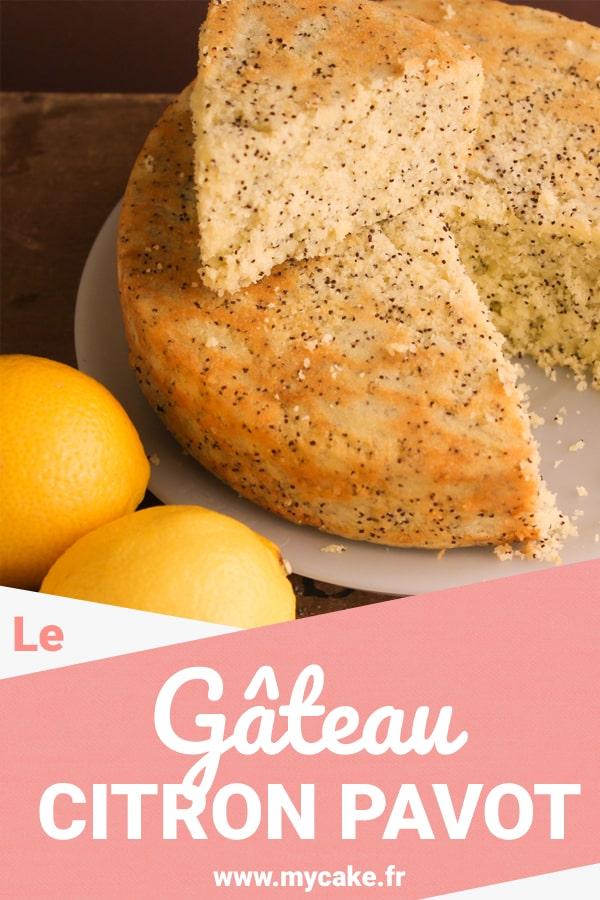 Le Gâteau Citron Pavot, frais et craquant ! 24