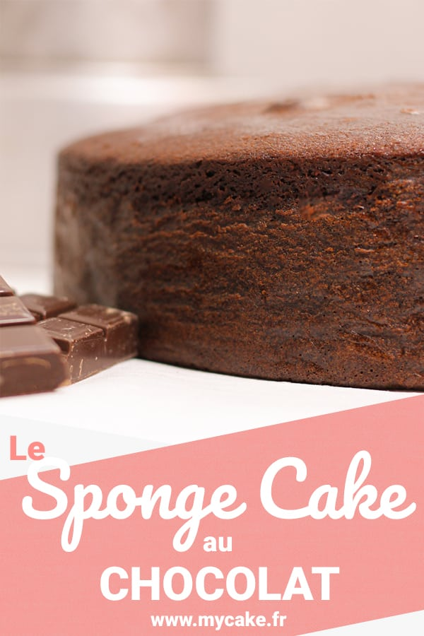 Le Sponge Cake au Chocolat, fort en goût et en moelleux ! 10