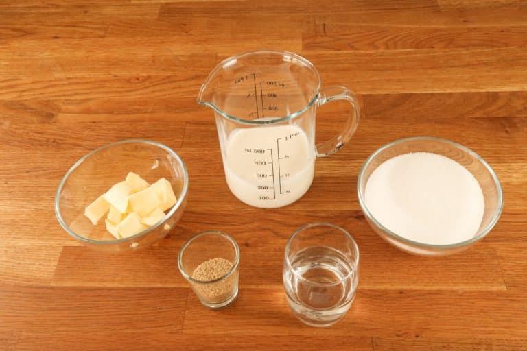 Caramel au beurre salé - Ingrédients nécessaires