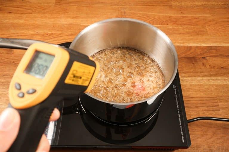 Caramel au beurre salé - Vérifier la température