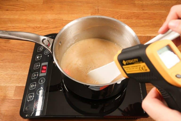 Caramel au beurre salé - Continuer à cuire