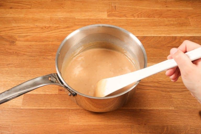 Caramel au beurre salé - Quand le rendu est lisse...