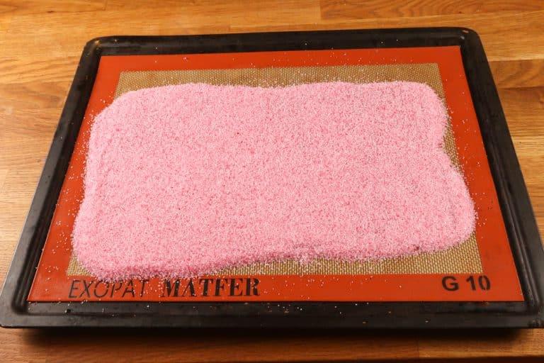 Sugar Sheet - Faire cuire