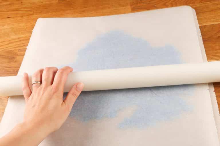 Sugar Sheet - Etaler finement