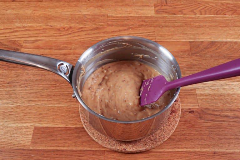 Crème spéculoos - Bien mélanger à nouveau